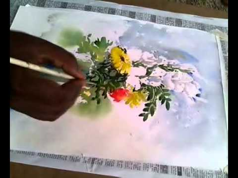 flower vase watercolor course 3 by shohag parvez - YouTube on flower butterfly painting, flower wreath painting, flower window painting, bottle flower painting, flower bed painting, flower still life oil paintings, flower table painting, frame painting, flower mirror painting, flower box painting, flower vases with flowers, flower light painting, flower oil paintings christmas, candle painting, bird-and-flower painting, flower white painting, flower bowl painting, modern palette knife painting, flower stand painting, flower girl painting,