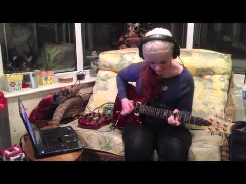 Satch Boogie (Joe Satriani) Guitar Cover - Amy Lewis