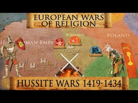 Battle of Lipany - Hussite Wars 1419-1434 - European Wars of Religion DOCUMENTARY