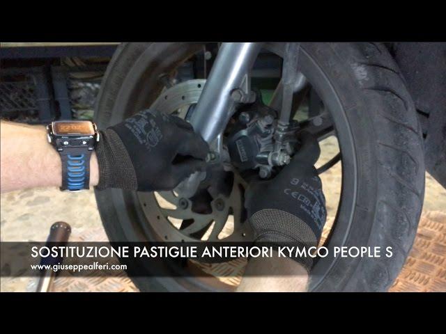 Pastiglia freno anteriore KYMCO PEOPLE GT 125i 2010