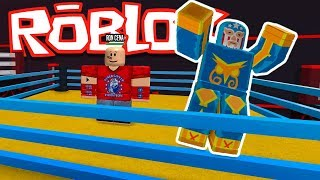 THE STRONGEST FIGHTER 💪 - ROBLOX SIMULATOR FREE FIGHT