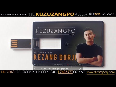 Buy The KUZUZANGPO Album on a 2GB USB Drive by Kezang Dorji