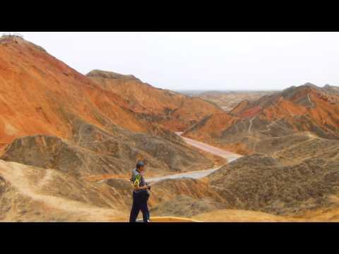 [จีน ] มหัศจรรย์ เขา 5 สี [Zhangye Danxia Landform] กันซู่