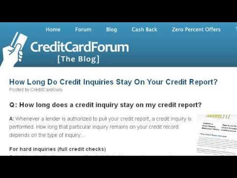 Does A Credit Line Increase The Soft Or Hard Inquiry Youtube