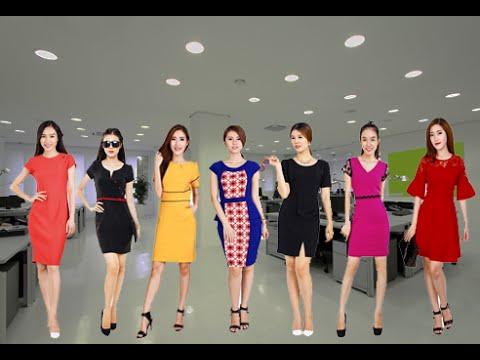 Thời trang công sở đẹp - Đầm công sở
