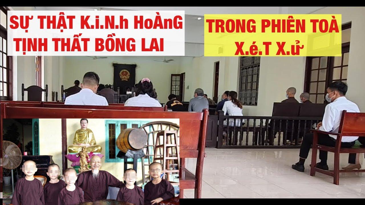 """TABBVT Sự thật về """"Tịnh Thất Bồng Lai"""" Người trong cuộc nói gì ?Sự thật phơi bày ở Phiên Tòa Xét X~ử"""