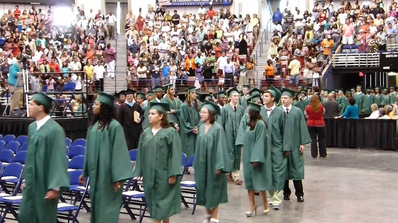 Summeville High School Graduation 2012, Summerville SC ...
