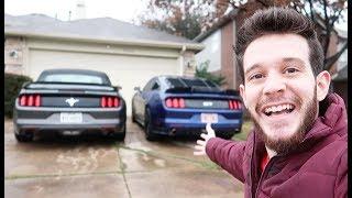 ليش اشتريت سيارتين موستنج GT و V6 ؟ #الوحش#الشبح