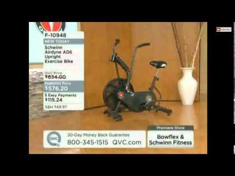 Schwinn Ad6 Airdyne Upright Exercise Bike Youtube