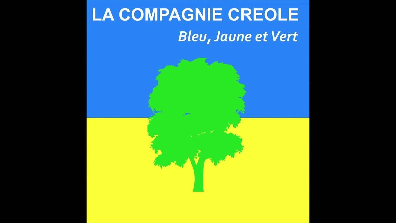 compagnie creole bleu jaune et vert audio officiel