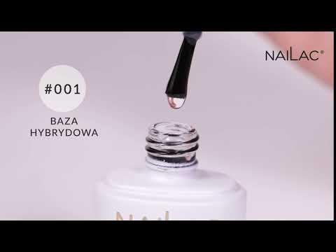 Video: #001 Hybrid base coat  NaiLac 7ml