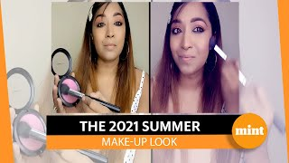 The 2021 summer make-up look