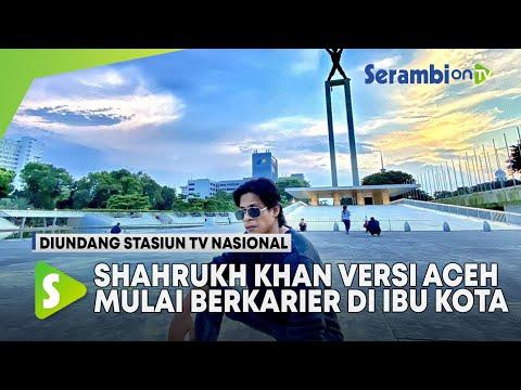 Shahrukh Khan Versi Aceh Mulai Berkarier di Ibu Kota, Telah Diundang Beberapa Stasiun TV Nasional