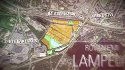 Lampelasta uusi kaupan ja asumisen keskus Rovaniemellä