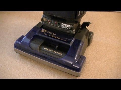 Maytag WindTunnel U5450 Upright Vacuum Cleaner Unboxing & Assembly