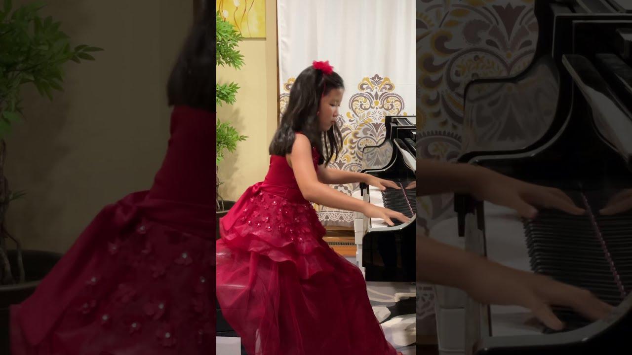 Emmie (12) La Campanella Liszt #Shorts