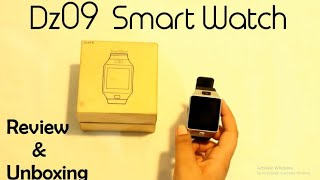 DZ09/GV18 Smart Watch Review And Unboxing - Pakistan - Urdu I FF Reviewers