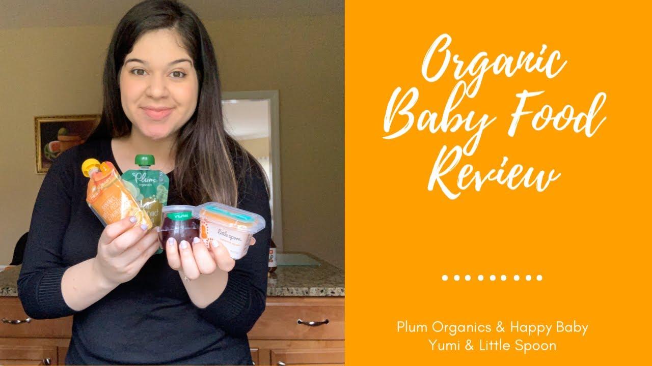 Organic Baby Food Review (Yumi, Little Spoon, Plum Organics, Happy Baby)