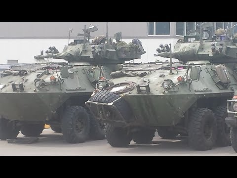 Armed Forces Arrive in Williams Lake ,BC Wild Fire
