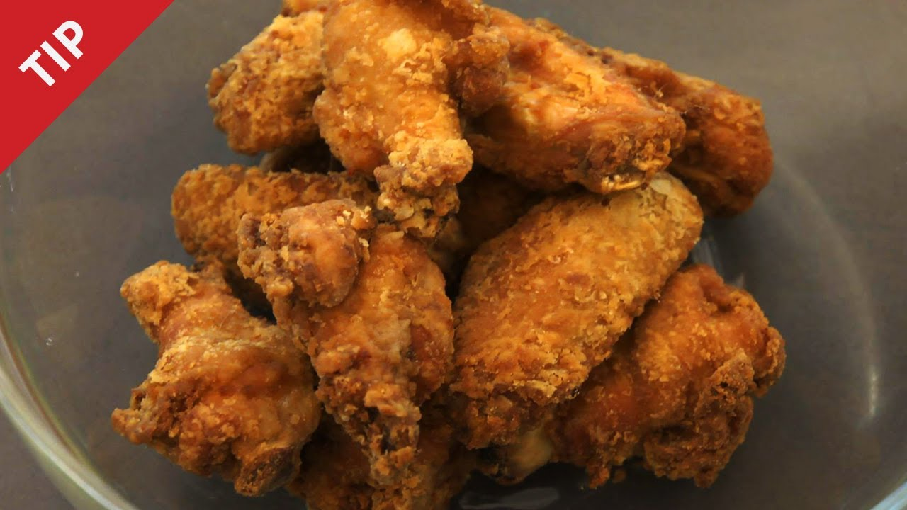Easy deep fried chicken batter