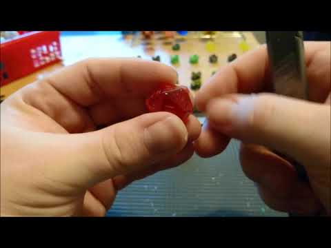 Dice Making Finishing Tutorial 5: Cleanup and Paint