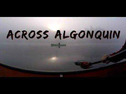 Across Algonquin By Canoe