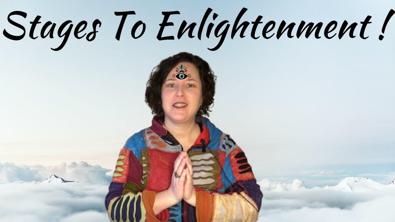 New Video - Stages Of Enlightenment #channelledmessage #spiritualawakening #enlightenment