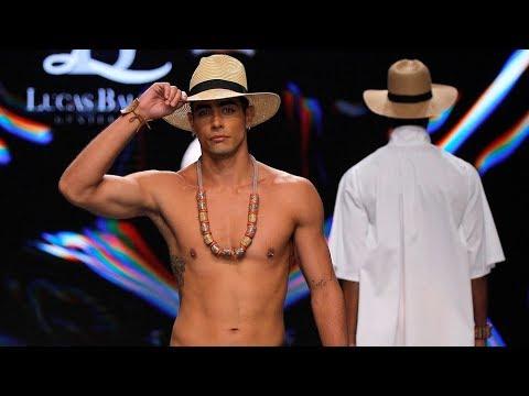 Desfile masculino LUCAS BALBOA en la Semana de Baño de Gran Canaria Moda Cálida 2019 Video