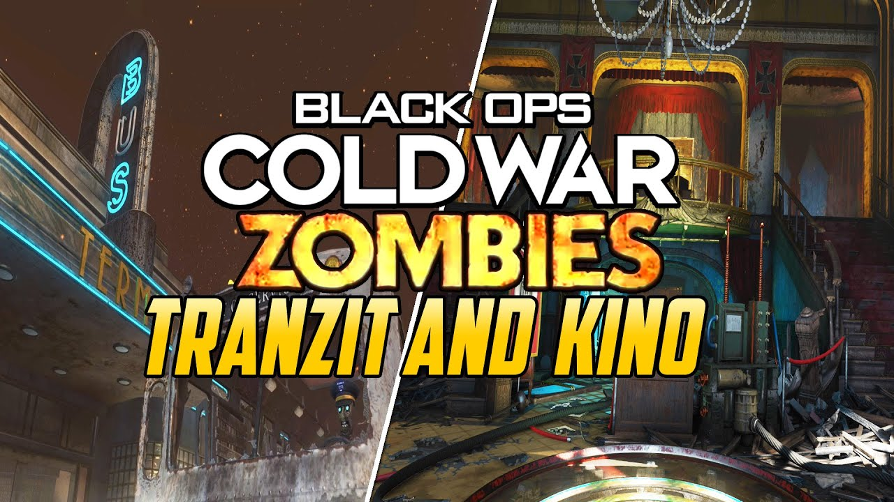 TRANZIT AND KINO IN COLD WAR ZOMBIES - LEAKED REMAKES!