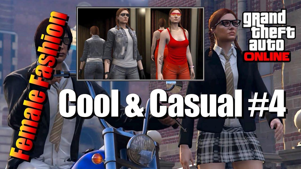GTA 5 - Female Fashion - Cool