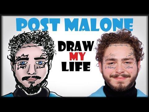 Carson - Draw My Life: Post Malone