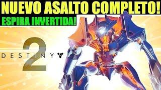 Destiny 2: NUEVO ASALTO! JEFE VEX! GAMEPLAY COMPLETO!