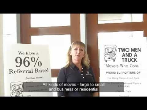 Movers - Two Men and  A Truck Moving Company  - Naples FL (www.TwoMen.com) (239) 284-1487