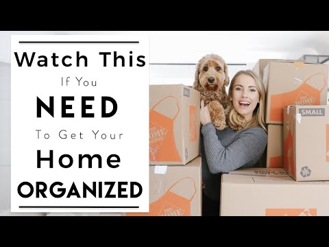 ORGANIZING | Hacks for Organizing Your New Home | Moving and Unpacking Tips