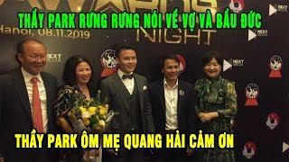Thầy Park rưng rưng cảm ơn vợ, chụp hình cùng bố mẹ Quang Hải | Ted Trần TV