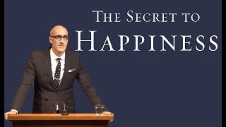 """The Secret to Happiness"" Arthur Brooks"