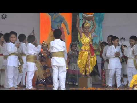 Brightland School Janmashtami  Celebration As An ISA Activity