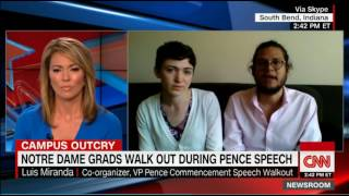 Progressive Notre Dame Snowflakes: Mike Pence Speech Didn't Make Us Feel 'Safe'