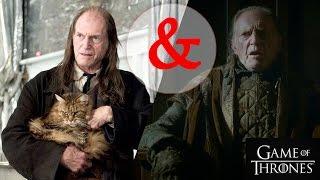 Актеры из Гарри Поттера в Игре престолов!