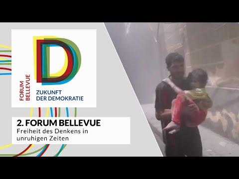 """2. Forum Bellevue - Thema """"Freiheit des Denkens in unruhigen Zeiten"""""""