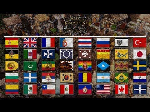 Age of Empires III: Wars of Liberty - Civilizations