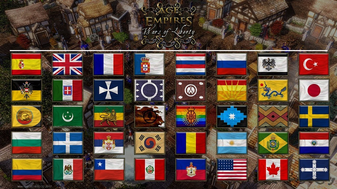 Age of Empires III: Wars of Liberty - Civilizations