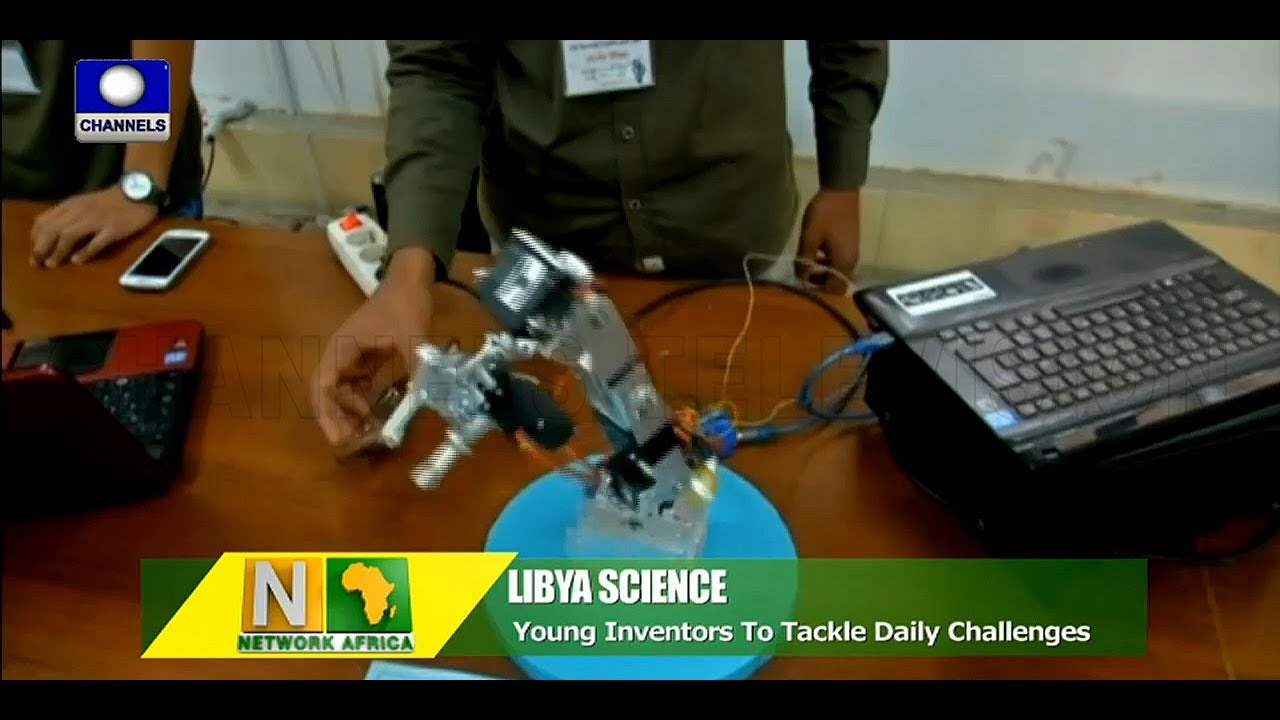 Young Libyan Inventors Display Innovative Skills In Science Fair |Network Africa|