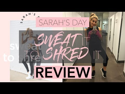 SARAH'S DAY E-BOOK REVIEW || My Honest Review on 'Sweat it to Shred it'