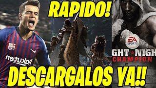 ¡¡¡DESCARGALOS GRATIS YA!!! JUEGOS GRATIS PARA XBOX 360 , XBOX ONE Y PS4 🏆