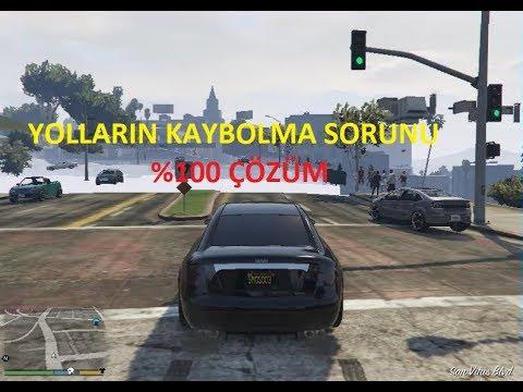 GTA 5 YOLLARIN KAYBOLMASI ÇÖZÜLDÜ (TEXTURE FIX)