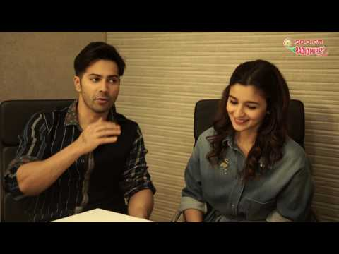 Varun Dhawan vs Alia Bhatt | Compatibility test with RJ Supriya | Badrinath Ki Dulhaniya