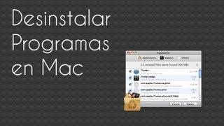 Como desinstalar programas en Mac OS X