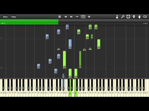 The Binding Of Isaac - Serenity - (Danny Baranowsky/Scamper205) - Synthesia - Piano
