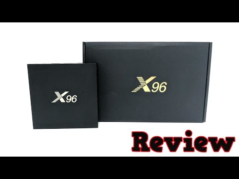 X96 Android TV Box REVIEW - S905X, 2GB RAM, 16GB ROM - YouTube